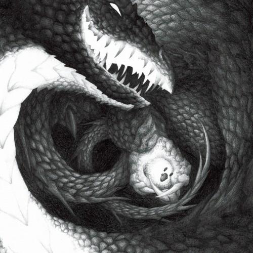 pencil dragon illustration drawing legend of krakow
